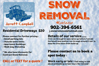 Snow Removal Services Montague