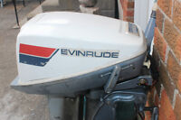 15 HP Evinrude ELECTRIC start !