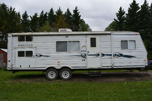 2003 travelair rustler bumper tow holiday trailer
