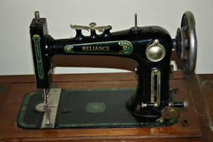 """Reliance"" antique Treadle Sewing Machine"