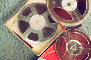 2 Boxes of Reel to Reel tapes