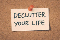 〓〓〓 - DE-CLUTTERING AND ORGANIZING SERVICES