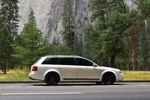 2002 Audi S6 Wagon - V8, Manual, Pearl White, Suede, CLEAN