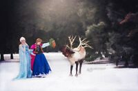 Princess Session with Queen Elsa + Princess Anna (Fundraiser)