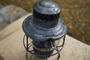 Vintage CNR Train Railroad Lantern Hiram L Piper Co Ltd Kawartha Lakes Peterborough Area image 3