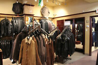 Blowout Liquidation Sale of Leather Coats at Le Village du Cuir