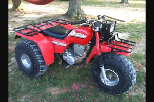 Looking for a mint condition Honda big red 250es cash now !!!