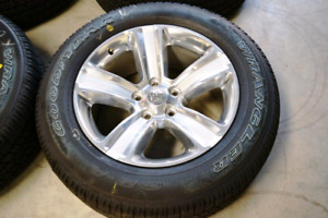 TRADE: 20Inch Ram Factory Chrome Wheels
