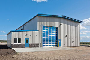 A NEW STEEL BUILDING FOR MONCTON NB AREA!!