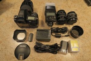 Pentax K5, lenses and accessories