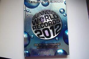 LIVRE GUINNESS WORLD RECORD 2012