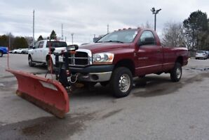 2006 Dodge Ram 2500 THE BOSS SNOWPLOW / RT3 STRAIGHT BLADE / 8FT / AUX