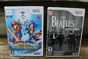 2 Wii  GAMES     EX. CONDITION