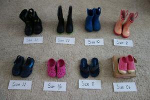 Kids Shoes - Natives, Crocs, Rain Boots, Winter boots