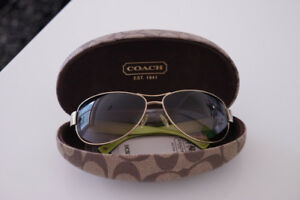 COACH Sunglasses - New with Hard Case ($80 or best offer)