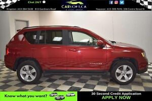2016 Jeep Compass HIGH ALTITUDE 4X4 - LOW KMS**SUNROOF**LEATHER