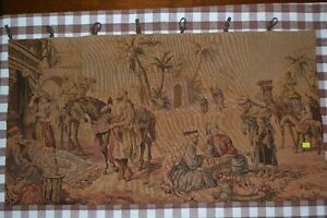 ANTIQUE  TAPESTRY   CIRCA 1800's  PRICE REDUCED
