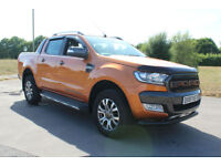 Ford Ranger WildTrak 3.2 TDCI 6 Speed 4WD 18 REG DIESEL PICK UP