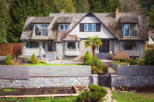 The rarest PROTECTED OCEAN VIEW property in West Vancouver!