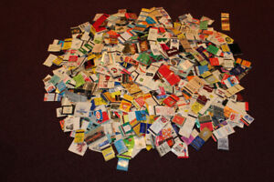 Over 1800 different MATCHBOOK covers - from before the year 2000
