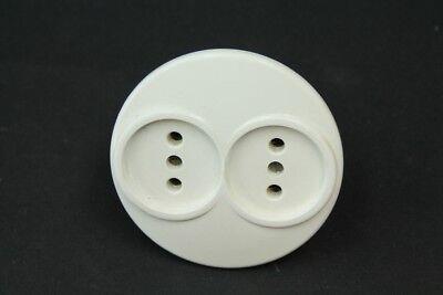 Old Socket 2er Combi Double Socket Flush Pdu