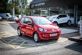2014 63 VOLKSWAGEN UP 1.0 High Up 3dr in Red