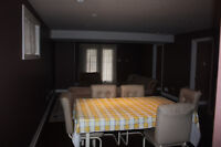 2 bedroom furnished walkout basement only 5 minutes from Conesto