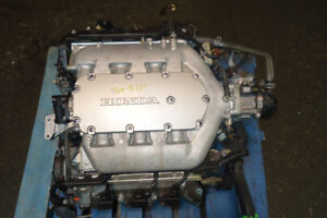 JDM HONDA ACCORD USED J30A 3.0L iVTEC COMPLETE ENGINE 03-07