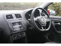 2015 Volkswagen Polo 1.2 TSI SE 90PS Petrol red Manual
