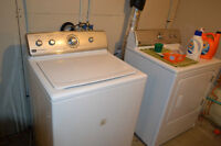 Pair of Maytag Washer and Dryer for sale