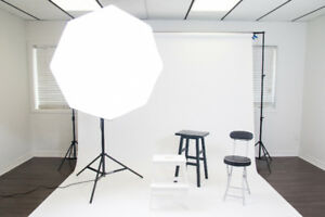 Photo & Video Studio for Rent, Rental Available 2 hours for $45