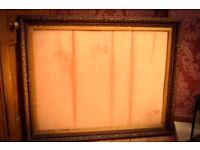 Gilt Frame 94cm X 119cm £50