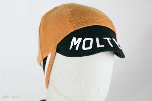Vintage style merino wool CYCLING CAP Molteni