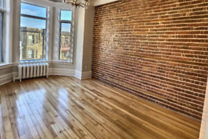 Newly Renovated** Large NDG Appartment: 3-4 Brm Monkland Village
