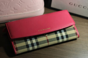 BURBERRY WALLET ROSE PINK(Clean and dry washing all done) St. John's Newfoundland image 1