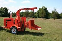"12"" Wood Chipper with Operator $75/hr"