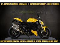 2012 12 DUCATI STREETFIGHTER F848 0% DEPOSIT FINANCE AVAILABLE
