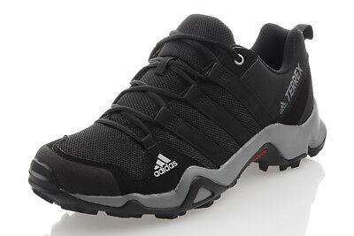 Adidas Terrex AX2R Kinder Jungen Schuhe Wandern Turnschuhe Schwarz BB1935  ()