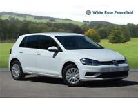 2017 Volkswagen Golf S 1.0 TSI 85PS 5-speed Manual 5 Door Petrol white Manual
