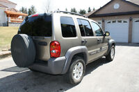 2003 Jeep Liberty Sport SUV 4x4 - Great Condition, Low KMs