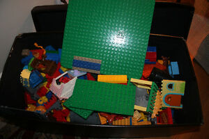 Big Lego with ottoman