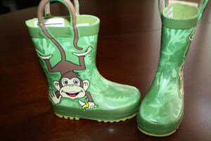 Toddler Rubber Rain Boots- Toddler size 5