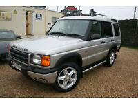 Land Rover Discovery 2.5Td5 auto 2000MY Td5 ES (7 seat)+DECEMBER 2017 MOT