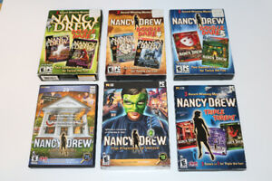 6 Nancy Drew Games