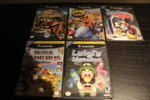 Assorted Gamecube Games