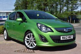 Vauxhall Corsa SXi 1.4i VVT (green) 2012