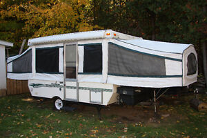 2000 Palomino Filly Tent trailer