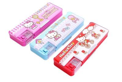 Hellokitty Pencil Case Multi Function Pencil Box Student School Stationery 9313