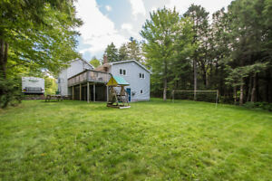 Private lot and great home for sale!
