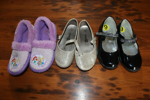 Box Lot of Girl's Size 9 Shoes